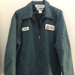 Bumper jacket/ utilitywear